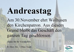 Andreastag
